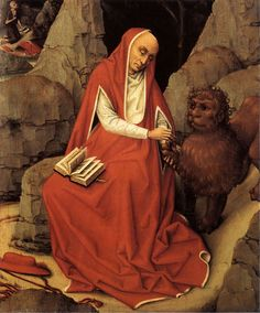 1450-San  Jeronimo y el león