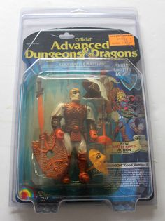 Advanced Dungeons & Dragons Action Figure Checklist | Protective case for Advanced Dungeons and Dragons AD&D MOC
