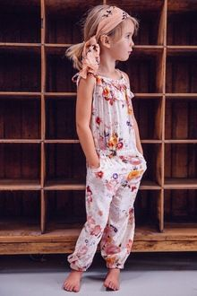 Birdie Long Playsuit Autumn Rose is too adorable!