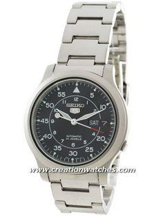 Seiko 5 Automatic SNK809K1 SNK809K SNK809 21 Jewel Men's Watch