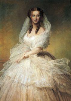 A painting of Alexandra, Princess of Wales by Richard Lauchert.