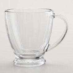 One of my favorite discoveries at WorldMarket.com: Ava Glass Mugs, Set of 2