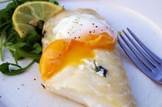Sous Vide Smoked Haddock and Egg by @BelleauKitchen. Just look at that perfect flakiness and ooh la la yolk!