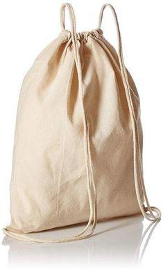 9f34f5e08d organic cotton canvas drawstring backpack bags BagzDepot Cotton Drawstring  Bags