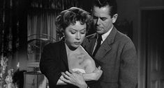 """...""""Human Desire"""", 1954, with Gloria Grahame, Glenn Ford, and Broderick Crawford..a tawdry remake of a French movie, and a Zola novel...but just TRY and look away !"""