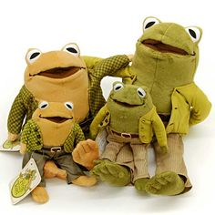 Frog and Toad Plush