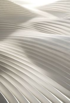 ❖Blanc❖ White pleated paper