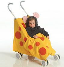SEWING PATTERN McCall's M5501 Toddler Infant HAT BIB STROLLER HALLOWEEN COSTUMES