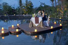 Anniversary dinner in bali ~ Romantic gazebo dinner date things i love pinterest romantic