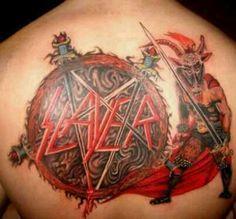 8 Best Slayer Tattoo Images Slayer Tattoo Slayer Slayer Band