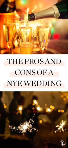 Wedding Gifts For Guests According to a Wedding Planner, Here Are 6 Reasons to Have a NYE Wedding (and 4 Reasons Not To) New Years Wedding, Wedding Vows, Wedding Table, Wedding Venues, Wedding Bells, Winter Wedding Favors, Wedding Gifts For Guests, Wedding Anniversary Gifts, Wedding Trends