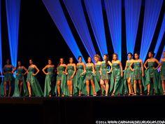 aspirantes-reina-carnaval-2014 #carnaval del #Uruguay #carnaval2014