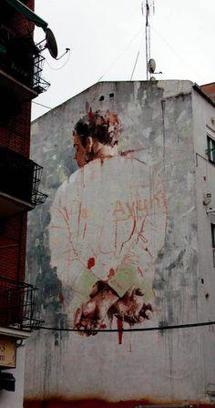 Borondo (2013) - Tetuan, Madrid (Spain)
