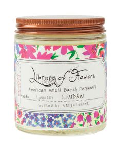 Library of Flowers Linden Luminary, 5 oz.