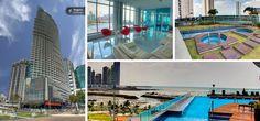 Yacht club: tiene 55 pisos, 4 ascensores, 203 apartamentos y año de construcción 2011, Edificio ideal para persona que le gusta el lujo.Precio promedio de VENTA por mts2 es de $ 3,317 y precio promedio del YACHT CLUB en RENTA por mts2 de $ 16