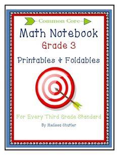 Third grade foldables