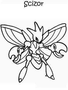 Desenhos para pintar Pokemon 47