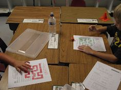 First Grade O.W.L.s: Math Stations-1st to 100