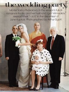 the wedding party by arthur elgort. one of my very favorites.