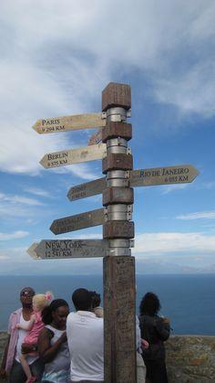 Anaïs d'Evaneos au Cap de bonne espérance, Afrique du Sud