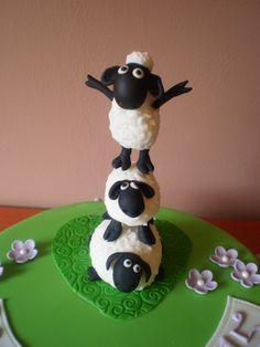 sheep shaun - detail