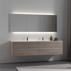 Master bath MASTER INSPIRATION 14 - Designer Mirror cabinets from talsee ✓ all information ✓ high-resolution images ✓ CADs ✓ catalogues ✓ contact..