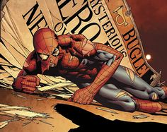 #spiderman #marvel #comics #avengers #spider #pain #art #comicsart
