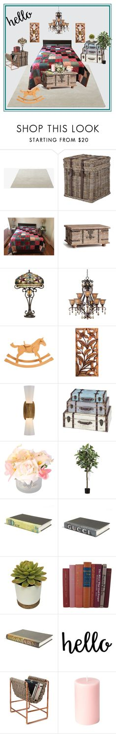 """""""Cozee Quilts"""" by bamasbabes ❤ liked on Polyvore featuring &Tradition, Pottery Barn, Serena d'Italia, Maxim, Hermès, NOVICA, Kelly Wearstler, Côte Noire and E. Lawrence, Ltd."""