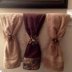 Decorative Towels on Pinterest