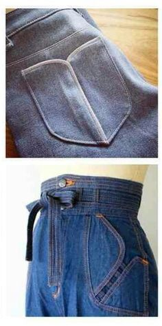 Wonderful Screen Super Sewing Jeans Pattern Pockets Ideas Tips I enjoy Jeans ! And a lot more I love to sew my own Jeans. Next Jeans Sew Along I'm going to rev Sewing Jeans, Sewing Clothes, Sewing Pockets, Pantalon Cargo, Patterned Jeans, Fashion Details, Fashion Design, Pocket Detail, Refashion