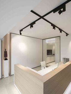 architects office design. Architects Office Design Minimalist Wood Desk Erubo Spotlight Track System Lighting LED Kreon Tools Of C