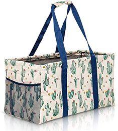 Large Utility Tote, Beach Canvas, Travel Tote, Diaper Bag, Basket, Tote Bag, Diaper Bags, Mothers Bag, Totes