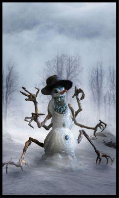 Frosty The Snowman by Katanaz.deviantart.com on @DeviantArt