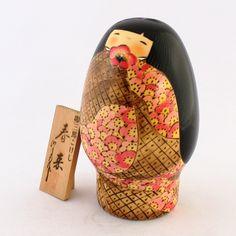 春来(しゅんらい) Usaburo kokeshi made in Japan