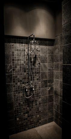 Landelijke badkamer met een hoffz inrichting landelijke badkamer pinterest grey - Badkamer inrichting ...