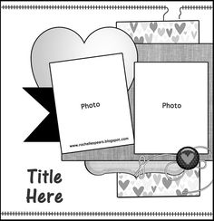 Wedding page idea