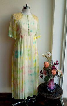 Pastel Shibori Tunic by Label Kanupriya WhatsApp 9694496961