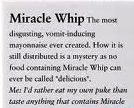 Definition of Miracle Whip