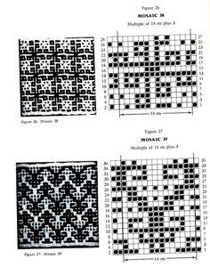 Mosaic Knitting Barbara G. Walker (Lenivii gakkard) Mosaic Knitting Barbara G. Walker (Lenivii gakkard) #39