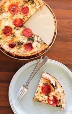 quiche met bietenblad en geitenkaas | It's a Food Life