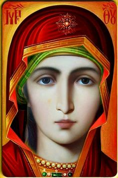 Wisdom of the Holy Fathers Divine Mother, Blessed Mother Mary, Blessed Virgin Mary, Religious Pictures, Religious Icons, Religious Art, Mary Magdalene And Jesus, Mary And Jesus, Christian Artwork