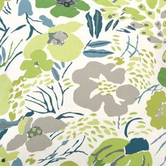 Pine Cone Hill Hot House Floral Spring Fabric by the Yard @Layla Grayce
