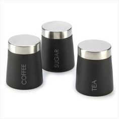 Clic Kitchen Canisters Set Of Three