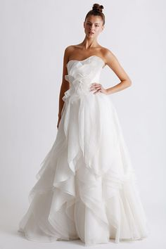 Gorgeous Marchesa Wedding Dress. Probably too short for this.