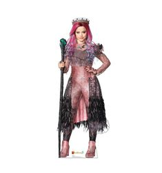 Advanced Graphics This is a cardboard cutout. It features a single-sided high-quality print on cardboard with an easel on the back so it can stand on its own. Cardboard cutouts make great decor for parties, photo ops, and events. Halloween Costume Accessories, Halloween Costumes For Girls, Kids Costumes Girls, Audrey Doll, Descendants Costumes, Descendants Pictures, Descendants Songs, Descendants Characters, Princess Leia Slave