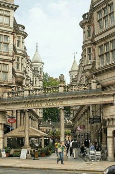 Sicilian Avenue. Londres