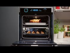 Introducing the new Dual Cook Flex™ oven, making every day delicious. One oven. Social Media Video, Inventions, Kitchen Appliances, Samsung, Cooking, Ol, Twitter, Videos, Youtube