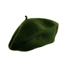 Ivy Beret (955 RUB) ❤ liked on Polyvore featuring accessories, hats, headwear, green, hair, beret hat, green beret hat, green beret, green hat and ivy hat