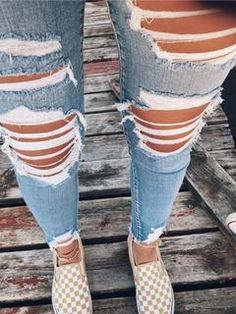 2020 Women Jeans Ripped Jeans For Men Best Jeans Best Jeans For Men – rosewew Teenage Outfits, Cute Teen Outfits, Cute Comfy Outfits, Teen Fashion Outfits, Mode Outfits, Jean Outfits, Outfits For Teens, Trendy Outfits, Summer Outfits