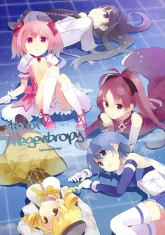Mahou Shoujo Madoka Magica: Life of Negentropy   Shaft / Kaname Madoka, Akemi Homura, Miki Sayaka, Tomoe Mami, and Sakura Kyouko